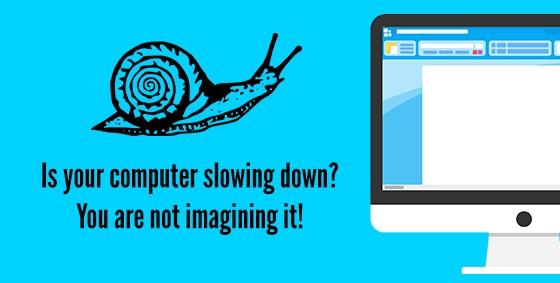 Snail slow computer